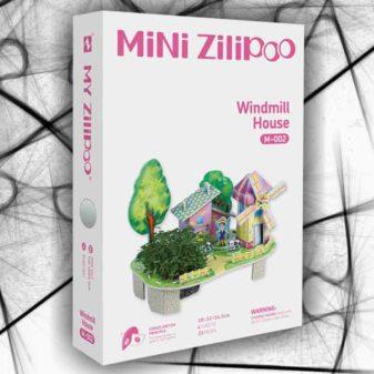puzzle 3D fattoria