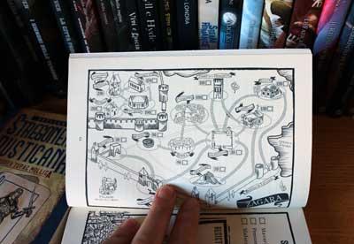 stregoneria rusticana mappa