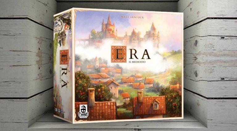 Era: Il Medioevo, un gioco da tavolo Roll And Write tridimensionale