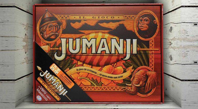 Jumanji quando il gioco da tavolo si ispira ai film