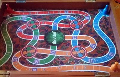 jumanji gioco tavolo plancia