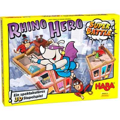 migliore gioco tavolo rhino hero super battle