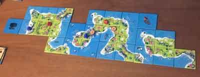 small island piazzamento tessera