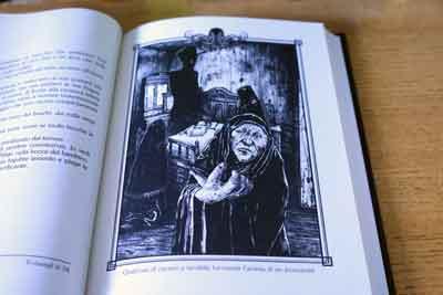 sogni nella casa della strega illustrazioni