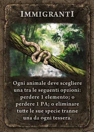carta specie dominanti