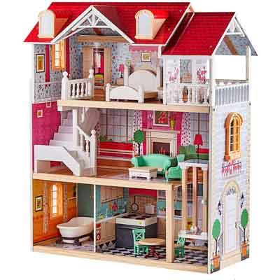 casa bambole legno ascensore