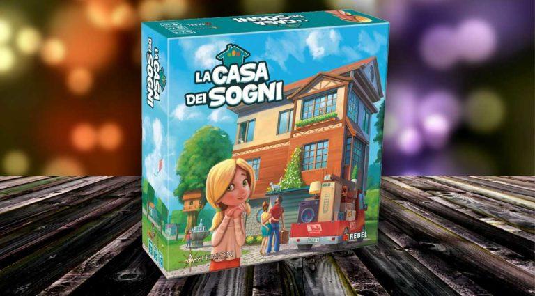 La casa dei sogni, un gioco da tavolo di simulazione per i più piccoli