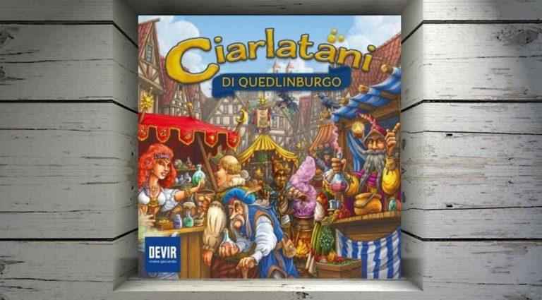 Ciarlatani di Quedlinburgo, un gioco da tavolo dove tentare la fortuna