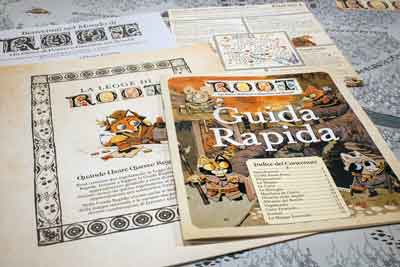 regole root gioco tavolo