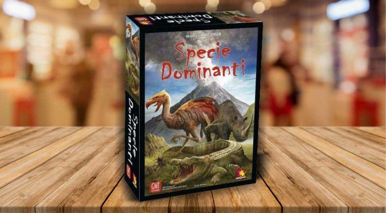 Specie Dominanti, un gioco da tavolo decisamente preistorico