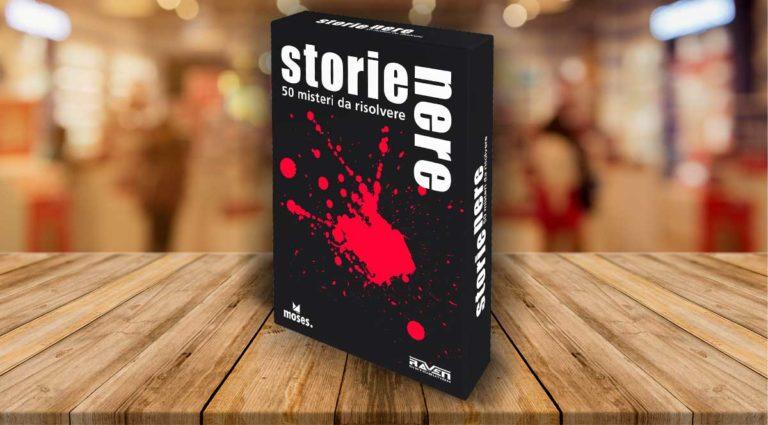 Storie Nere, un gioco thriller di narrazione e deduzione