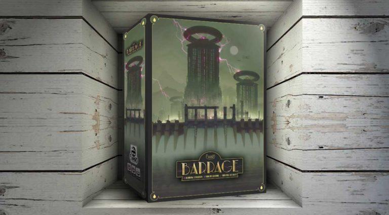 Barrage, un gioco da tavolo di strategia dove costruire dighe