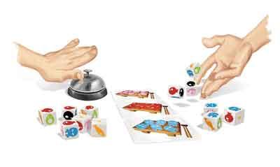 gioco tavolo sushi dice