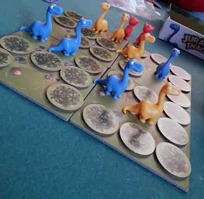 jurassic snack gioco da tavolo