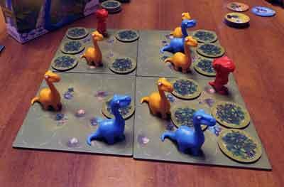 jurassic snack gioco tavolo