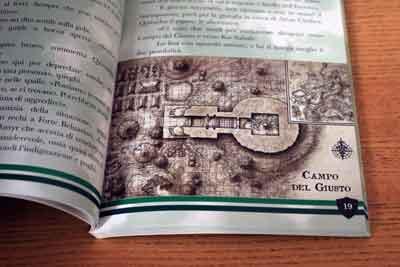mappa nella giungla librogame