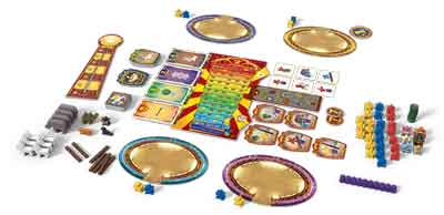 meeple circus contenuto scatola