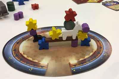 meeple circus gioco scatola