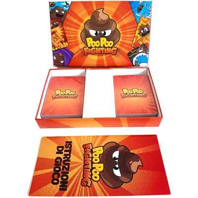 Poo Poo Fighting contenuto scatola