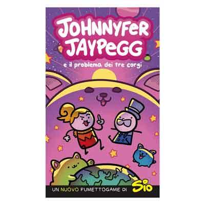 Johnnyfer Jaypegg mistero tre corgi librogame