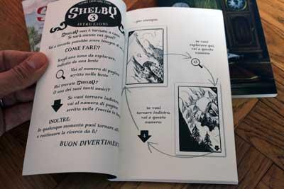 Trova shelby istruzioni