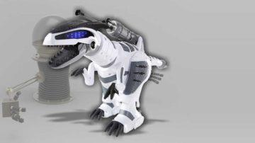 dinosauro robot