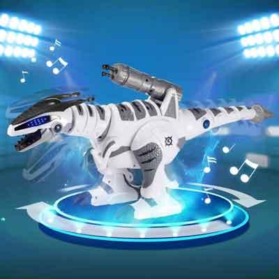 dinosauro robot giocattolo ballo