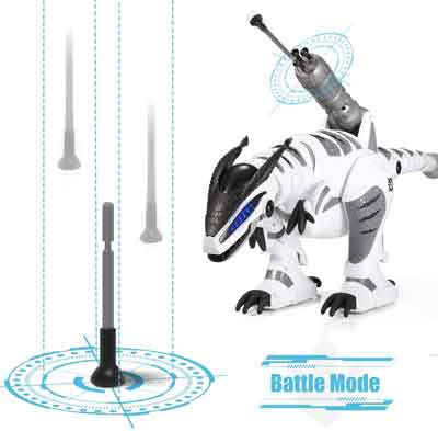 dinosauro robot giocattolo battaglia