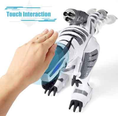 dinosauro robot giocattolo gesture