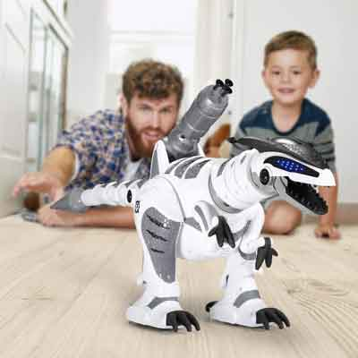 dinosauro robot giocattolo