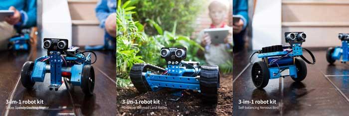 makebot costruire 3 robot gioco