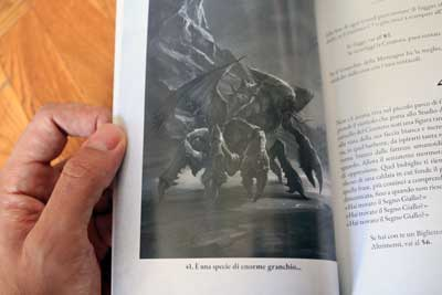 necronomicon gamebook carcosa illustrazioni