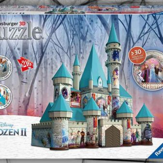 castello frozen puzzle 3d