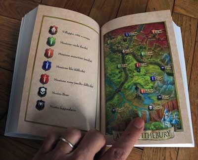 destinyQuest mappa